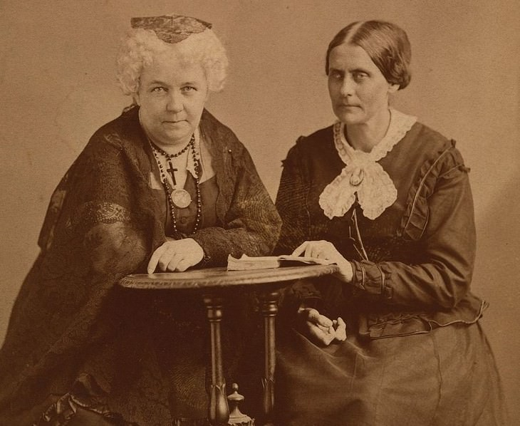 Chance Meetings That Changed History, Elizabeth Cady Stnaton and Susan B. Anthony
