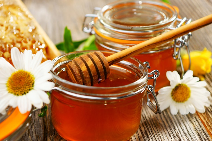 Honey Cure  jar
