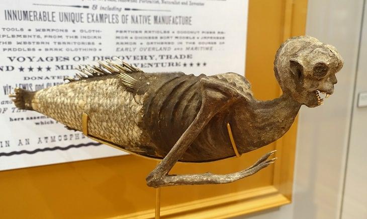 Weirdest Historical Events, The Feejee Mermaid
