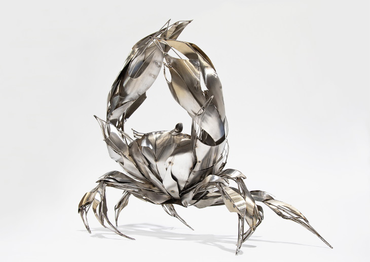 Georgie Seccull animal sculptures Cancer Rising