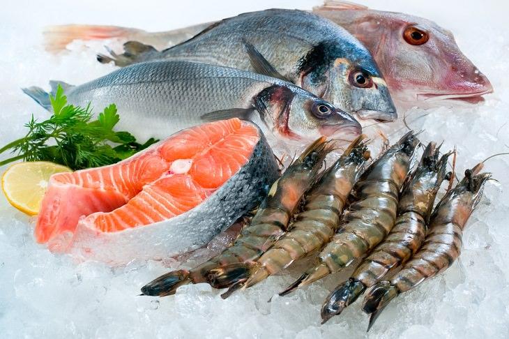 Frozen foods, Frozen seafood