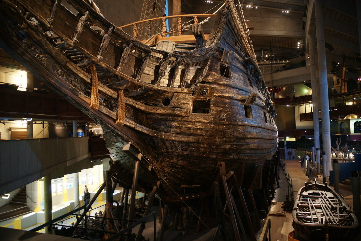 The Oldest Ships Ever Found Vasa