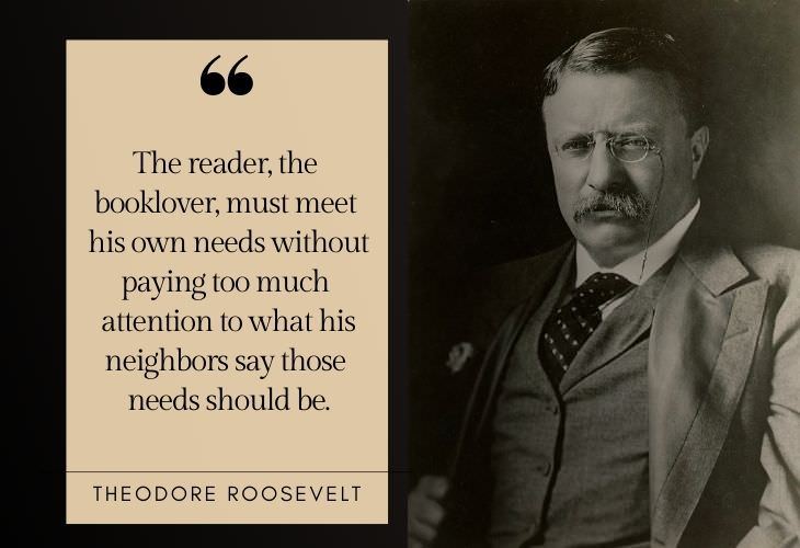 Reading Advice from Famous Figures Theodore Roosevelt