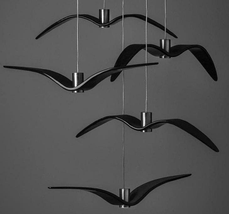 Furniture Designs, flying birds.