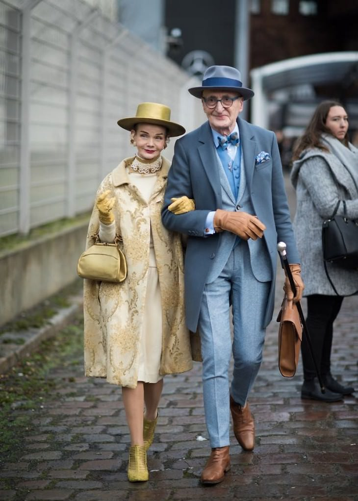 Britt Kanja and Günther Krabbenhöft, the Most Stylish and Lively Senior Couple