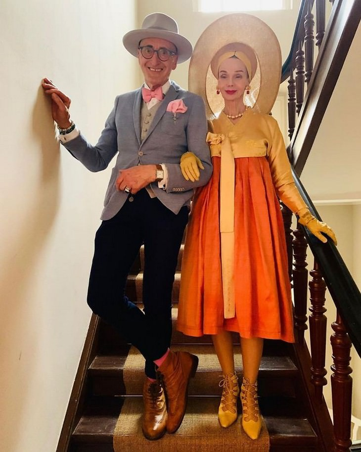Meet the Most Stylish and Lively Senior Couple