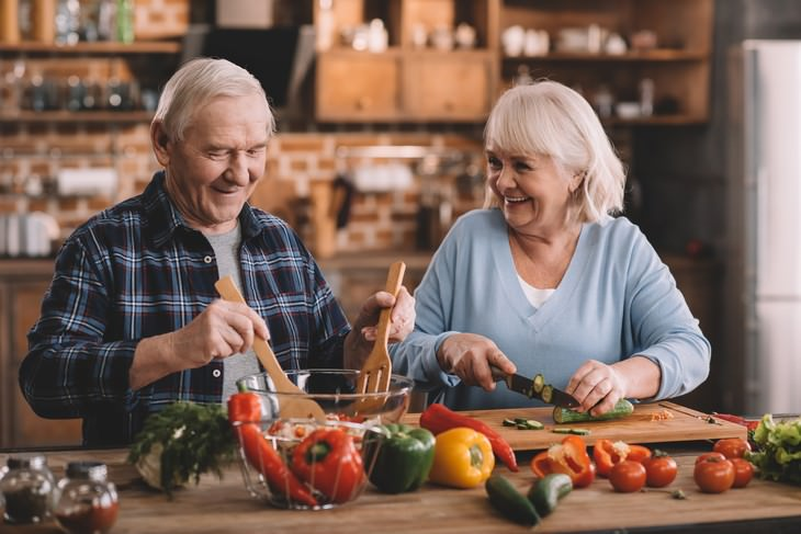 Nourishing vs Toxic Pleasure: What is the Difference? elderly couple laughing