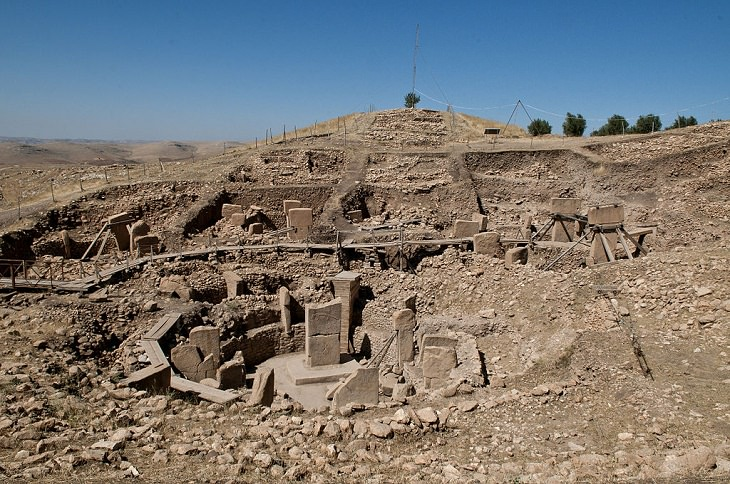 Oldest Temples. Göbekli Tepe