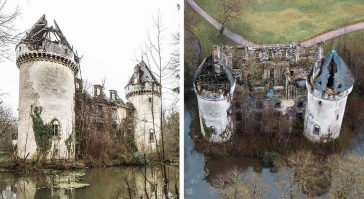 Abandoned European Buildings by Christophe Van De Walle French castle