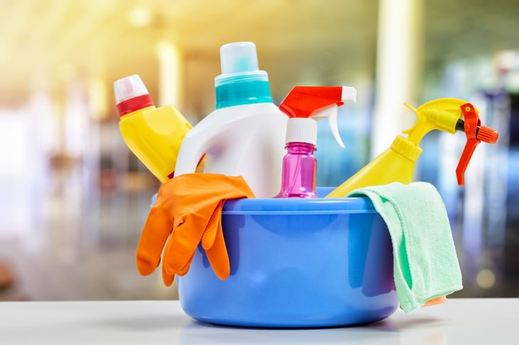 12 Things That Should Never Be Stored in the Attic cleaning supplies