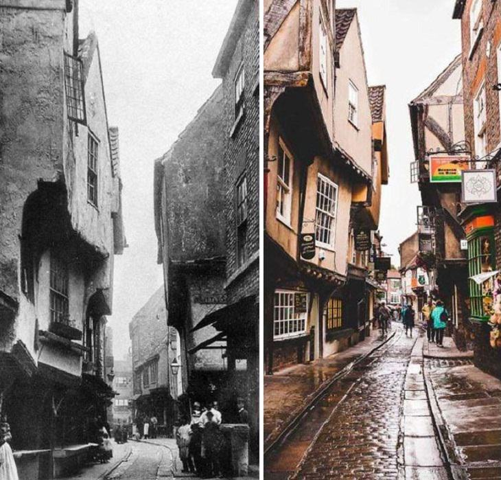 'Then And Now' Pics, The Shambles