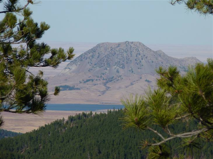 Overlooked US Landmarks, Bear Butte, South Dakota