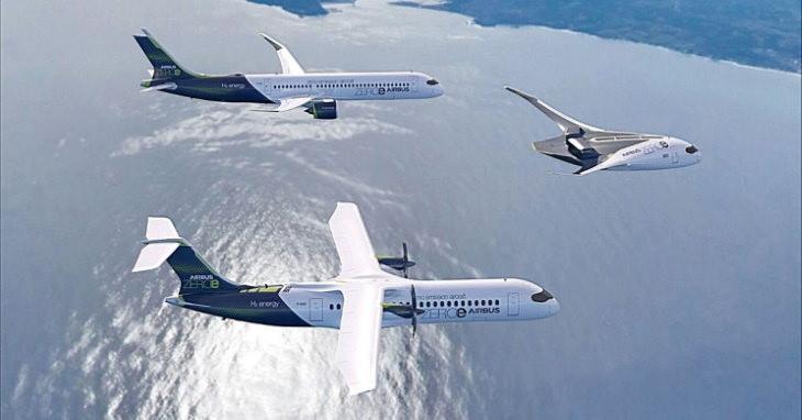 Airbus Zero Emission Plane Concept