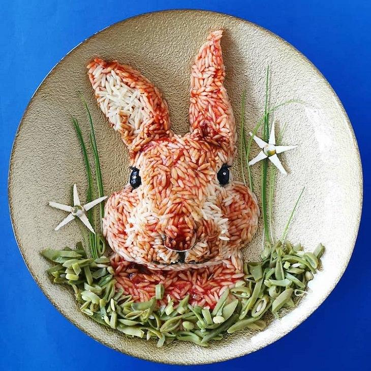 Food Art, Rabbit