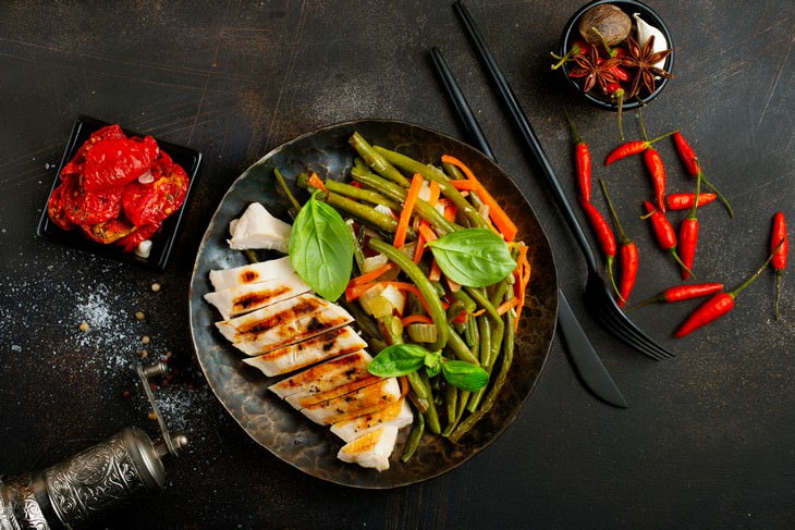 Easy Tweaks To Make Your Takeout Food Healthier meat and greens