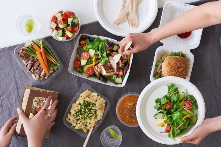 Easy Tweaks To Make Your Takeout Food Healthier takeout food