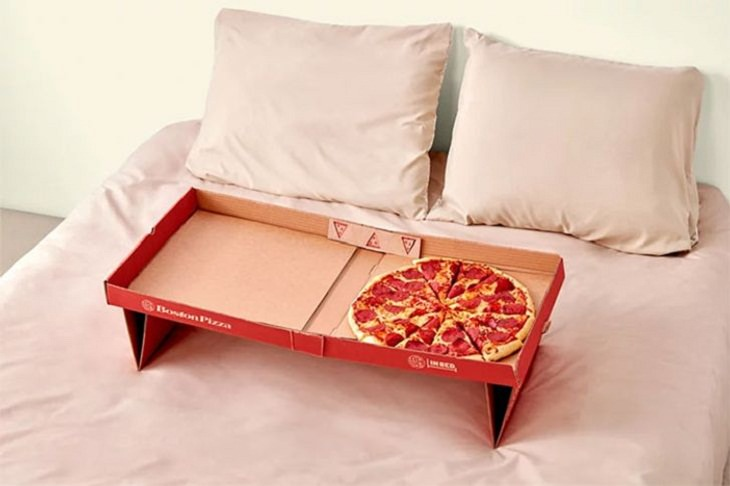 Creative Design Ideas, pizza box