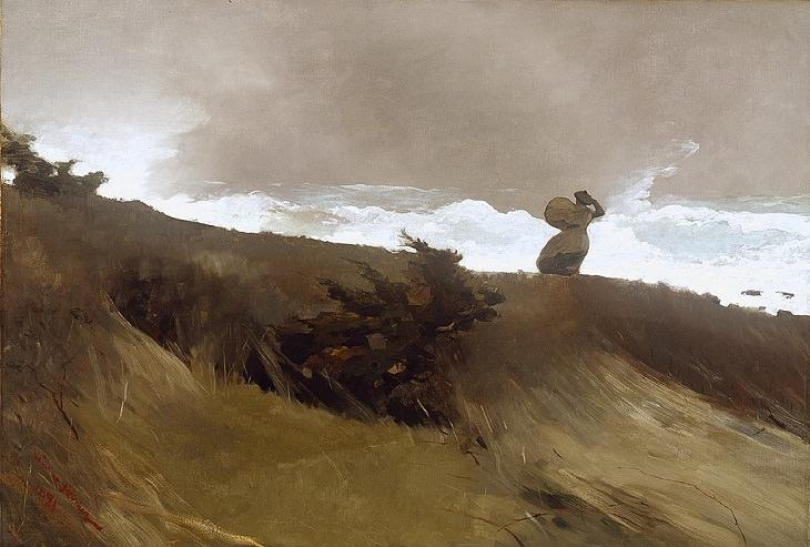 Winslow Homer West Wind (1891)