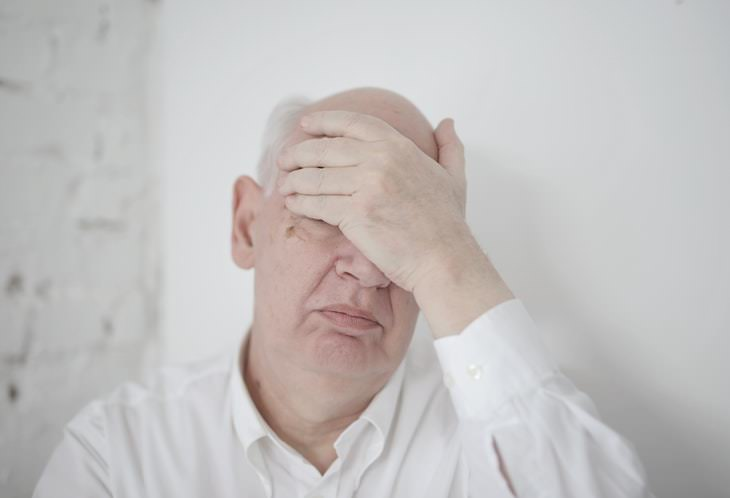 Relationship Mistakes That Push Away Your Adult Children senior man facepalm