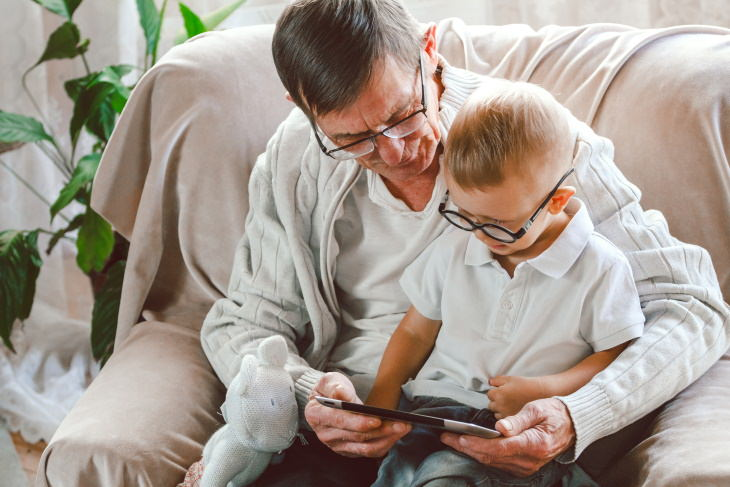 Relationship Mistakes That Push Away Your Adult Children grandpa and grandson