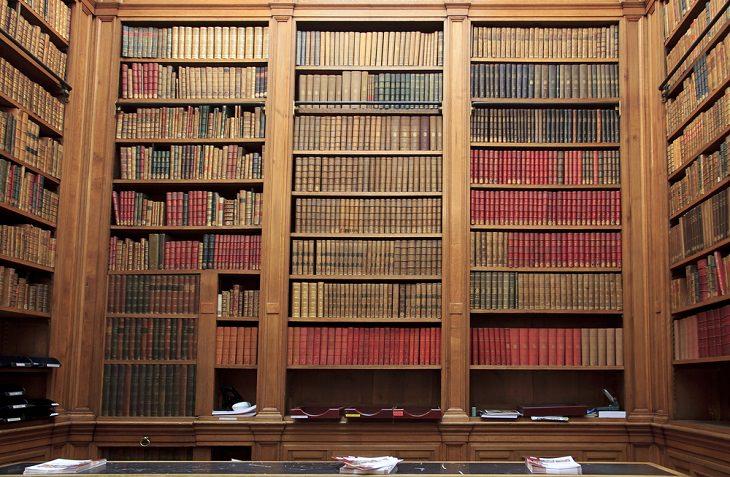 Datos Fascinantes Sobre París  París alberga 830 bibliotecas.
