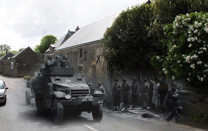 Merged Images, Colleville-Sur-Merin France
