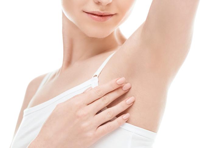 Surprising Uses for Hand Sanitizer, armpit