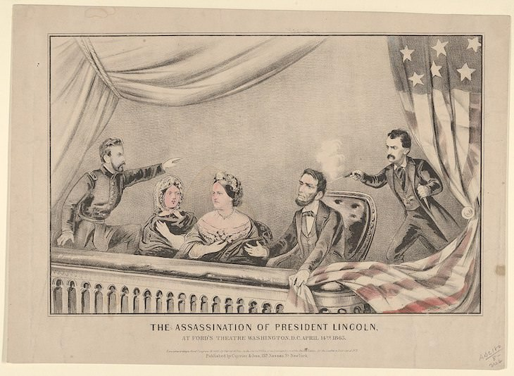 Creepy Historical Facts, assassination of President Lincoln
