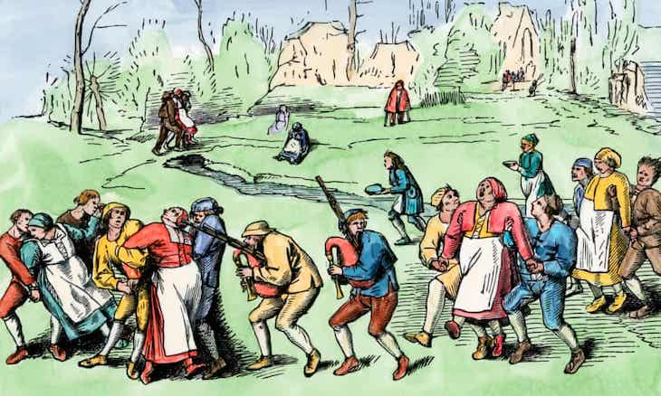 Creepy Historical Facts the dancing plague of 1518