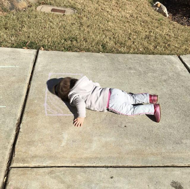 Child Logic chalk pillow