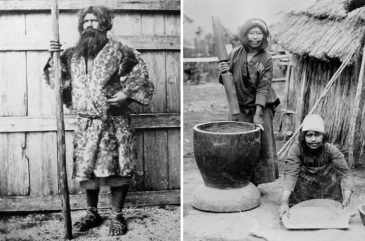 People at the Turn of 20th Century Around the World Japan