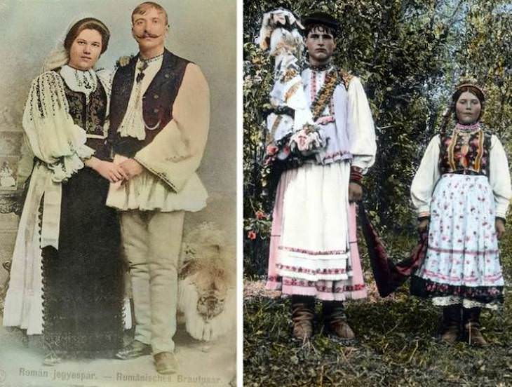 People at the Turn of 20th Century Around the World, Romania