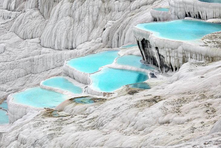 Beautiful Hot Springs Pamukkale