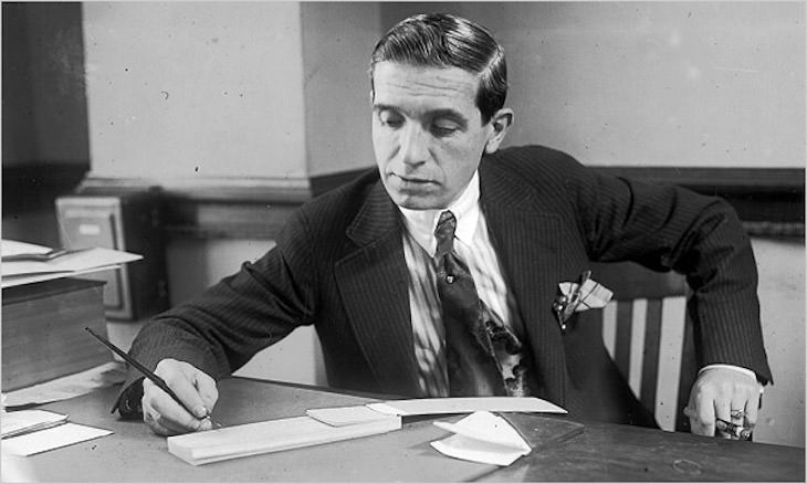 Biggest Lies to  Go Down In History, Charles Ponzi