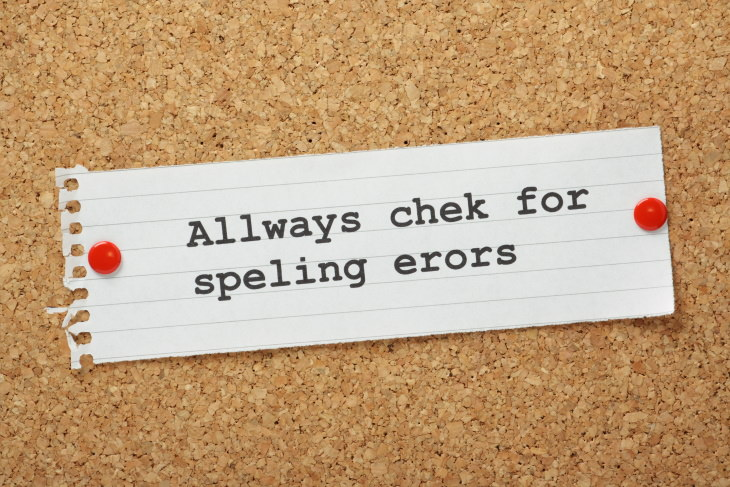 Email Mistakes spell-check