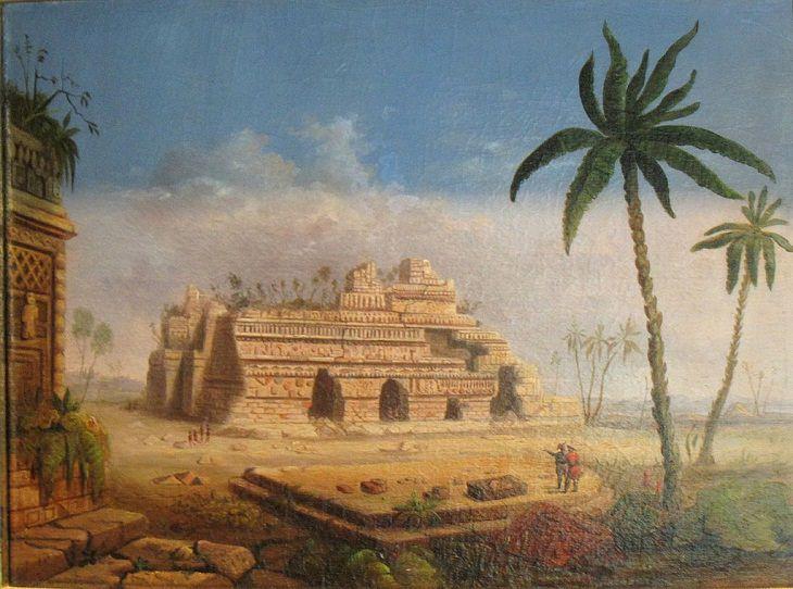 Robert S. Duncanson's Landscape Art , Mayan Ruins