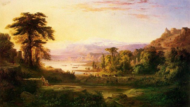 Robert S. Duncanson's Landscape Art , Italy