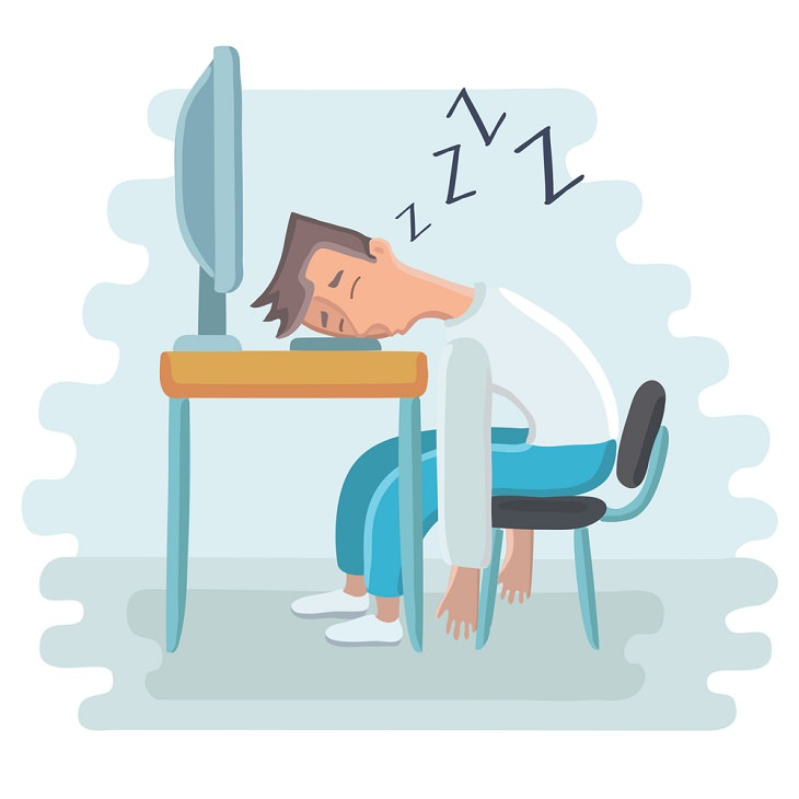 Tips to Stop Daytime Sleepiness, sleepy after lunch
