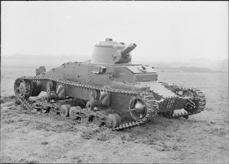 10 Significant Tanks Used in World War II, British Matilda