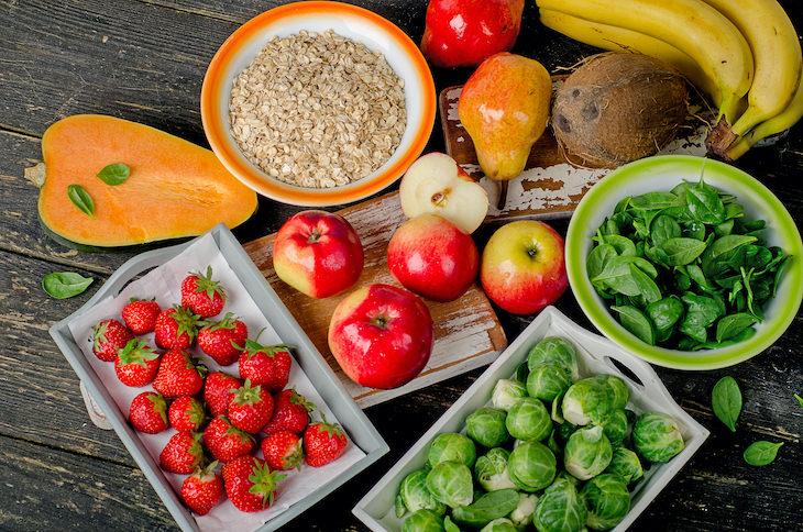 6 Dietary Tips for Better Sleep, fiber rich food