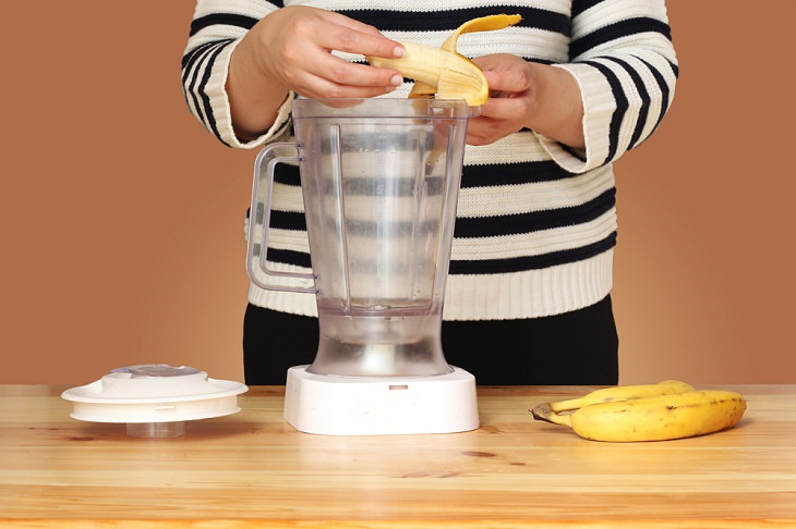 Banana Peels uses, smoothie