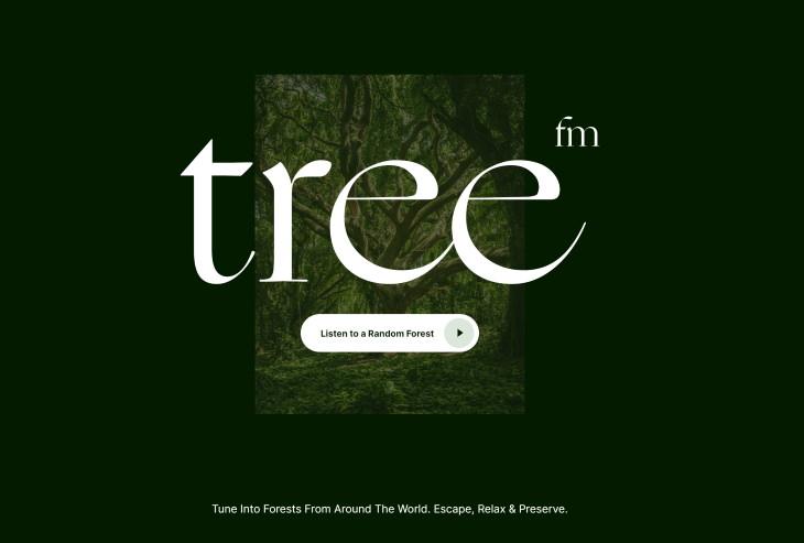 tree.fm screenshot