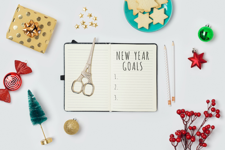 Study: A Trick to Stick to New Year's resolutions. new year goals