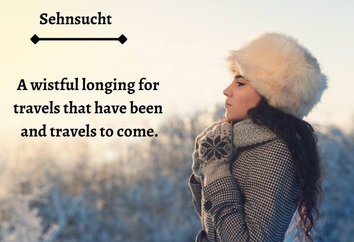 Unusual Travel Words, Sehnsucht