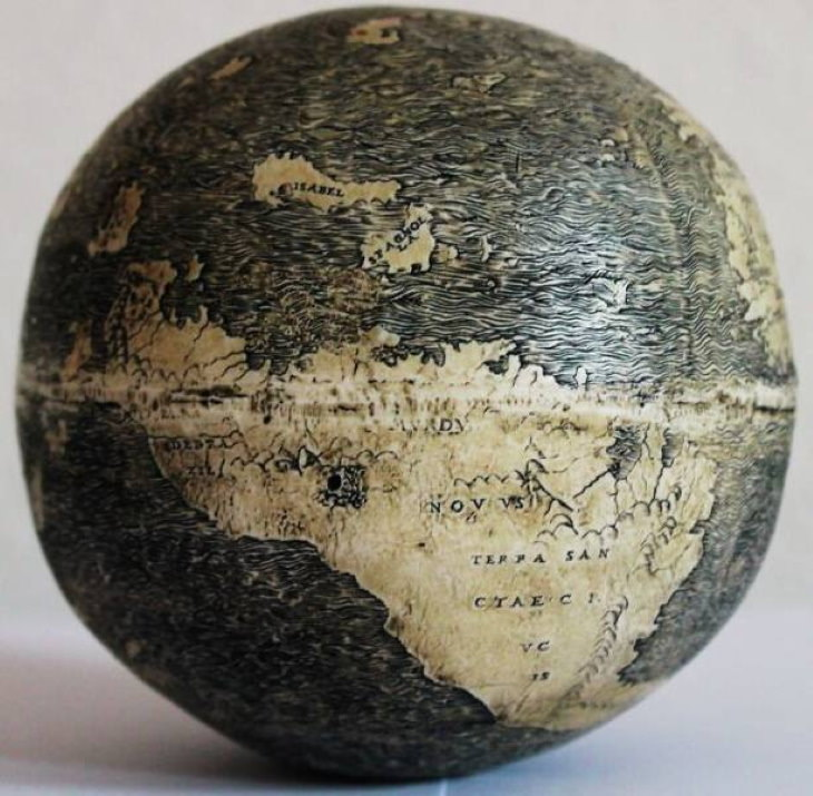 Historical Artifacts Da Vinci Globe