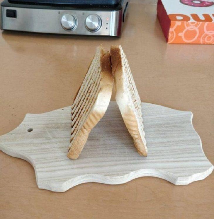 DIY Kitchen Hacks, toast
