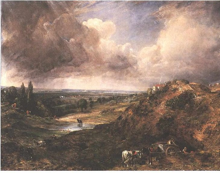 John Constable Paintings, Pond