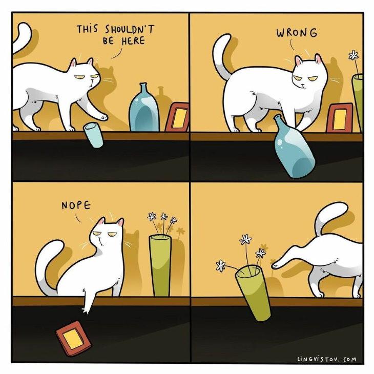 Lingvistov Cat Comics