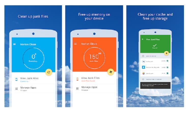 Phone Cleaner Apps, Norton