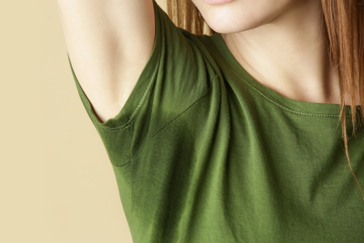 How to Remove Different Odors Stained sweaty T-shirt